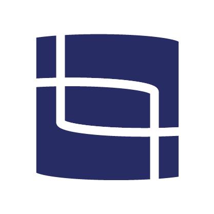Blik Online icoon blauw